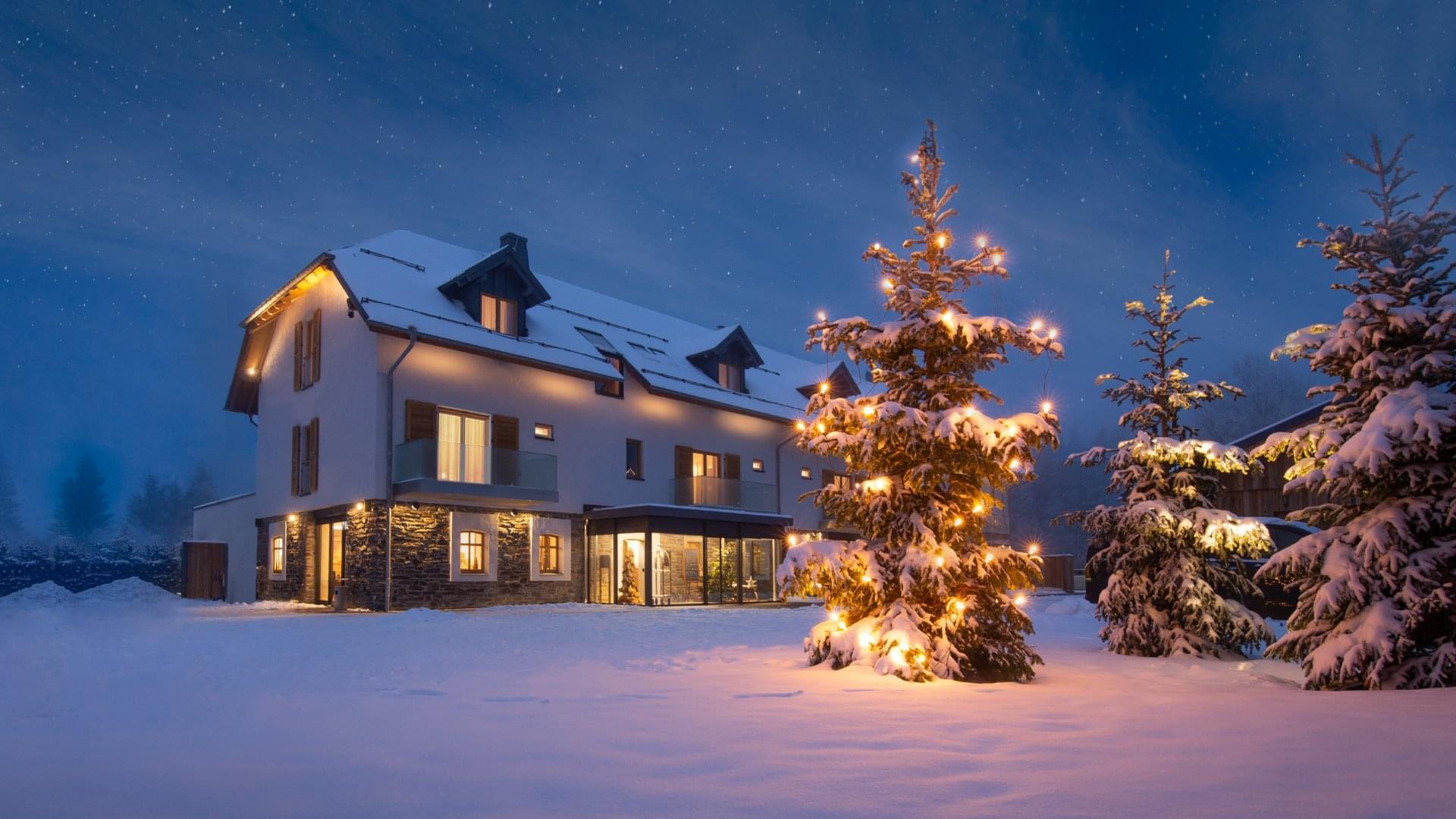 Weihnachten im Tannenhaus